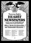 Autopublicidad de periódicos de Hearst