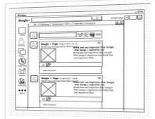 Ejemplo de maqueta elaborada con Mockup Builder