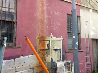 Calle Templeman esquina San Enrique, Cerro Alegre