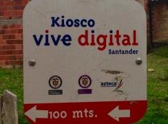 Kiosco TIC, Peña Blanca