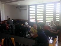 2º día: taller de emprendimiento periodístico.