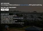 Llamado a la acción en Life After Ebola
